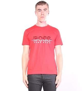 HUGO BOSS BOSS Green Men's Tee 2 Shirt with HB Artwork on Chest