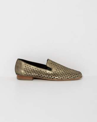 ac13aa2ce6f at The Dreslyn · Rachel Comey Gold Exchange Loafer