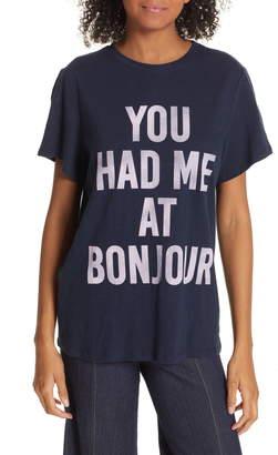 Cinq à Sept You Had Me at Bonjour Tee