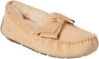 UGG Women's Dakota Leather Bow Slipper