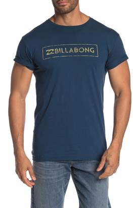 Billabong Pushed Logo Graphic Tee