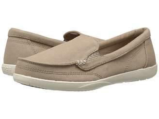 Crocs Walu II Canvas Loafer Women's Slip on Shoes