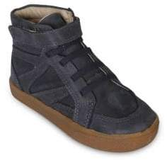 Old Soles Toddler's& Kid's Star Jumper Leather High-Top Sneakers
