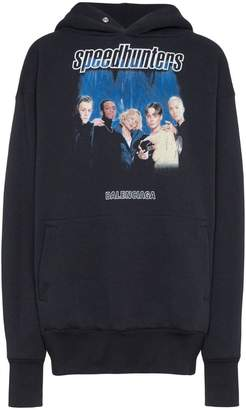 Balenciaga Speed Hunters cotton-blend hoodie