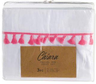 Tassel Ultra Soft Sheet Set