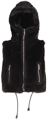 DSQUARED2 Maxi Cropped Gilet