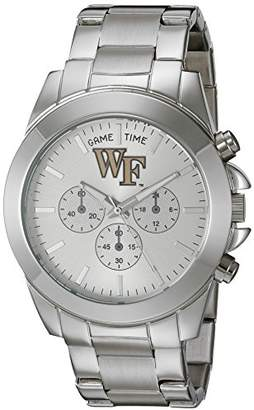 Game Time Women's 'Knock-Out' Quartz Stainless Steel Quartz Analog Watch