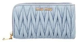 Miu Miu Matelassé Coin Pouch