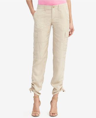 Lauren Ralph Lauren Twill Cargo Jogger Pants $115 thestylecure.com