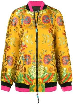 Etro floral embroidered bomber jacket
