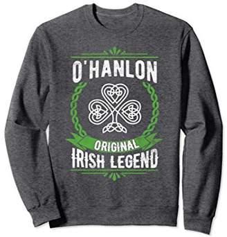 OHanlon Irish Name Sweatshirt Green Original Irish Legend
