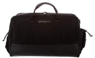WANT Les Essentiels Leather-Trimmed Canvas Weekender