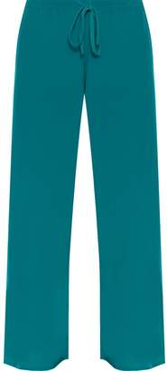 f3ffbf25c90 WearAll Womens Plus Size Palazzo Trousers Baggy Flared Wide Leg Pants