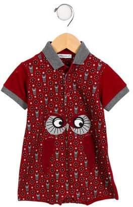 Dolce & Gabbana Infants' Embroidered Owl All-In-One