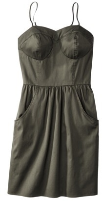 Mossimo Juniors Bustier Sweetheart Dress - Assorted Colors