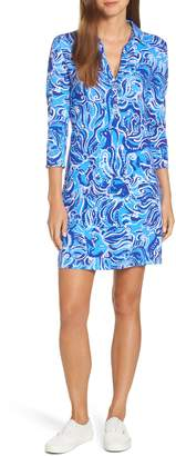 Lilly Pulitzer R) Ansley UPF 50+ Polo Shift Dress