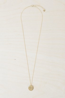 French Connenction Scorpio Zodiac Charm Necklace