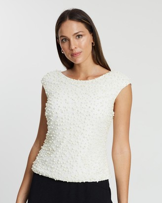 Pearla Beaded Top