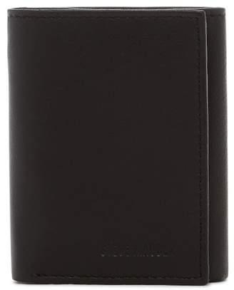 Steve Madden Glove Leather Tri-fold Wallet