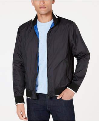 Kenneth Cole New York Men Reversible Bomber Jacket