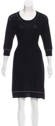 Sonia Rykiel Sonia by Wool Sweater Dress