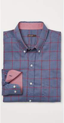 J.Mclaughlin Westend Modern Fit Flannel Shirt in Window Pane