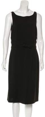 Armani Collezioni Wool Sleeveless Dress w/ Tags