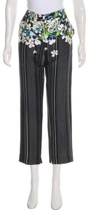 3.1 Phillip Lim Silk Mid-Rise Pants