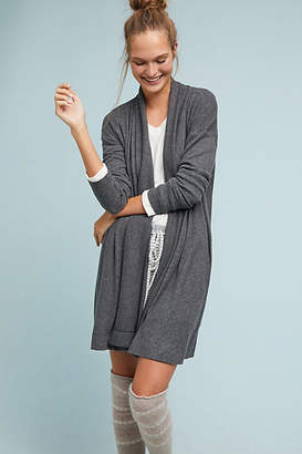 COA Cozy Brushed Fleece Cardigan