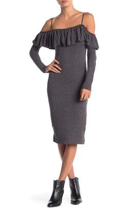 Anama Ribbed Knit Dress