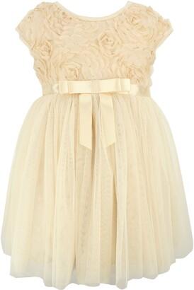 Popatu Rosette Tulle Dress