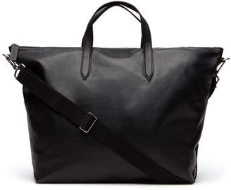 Lacoste Men's L.12.12 Limited Edition 85th Anniversary Leather Weekend Bag