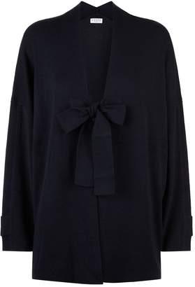 Claudie Pierlot Tie Front Knit Cardigan