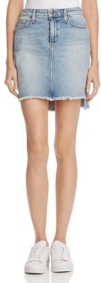Joe's Jeans High-Low Mini Skirt $168 thestylecure.com
