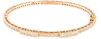 Charriol 18K Diamond Bangle