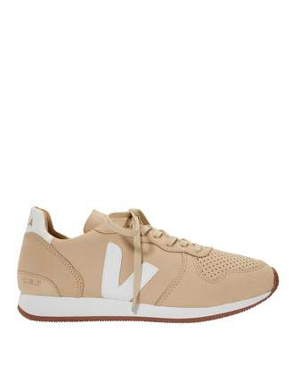 Veja Bastille Suede Low-Top Sneakers