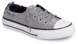 Girl's Converse Chuck Taylor All Star Metallic Shoreline $39.95 thestylecure.com