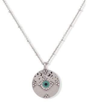 lonna & lilly Crystal Evil Eye Pendant Necklace