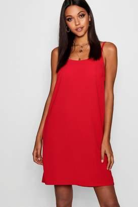boohoo Tall Basic Woven Cami Dress