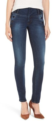 Women's Kut From The Kloth 'Diana' Button Pocket Skinny Jeans $108 thestylecure.com