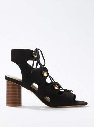 29fb995ab6a5 Miss Selfridge SKYLAR Black Gladiator Sandals