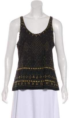 Joie Embellished Sleeveless Top