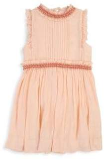 Chloé Little Girl's Beaded Couture Dress
