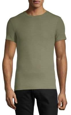 ATM Anthony Thomas Melillo Ribbed Short-Sleeve Tee