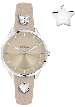 Furla Women's Pin Analog Quartz Watch, 38mm