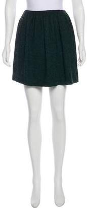Tibi Tweed Mini Skirt