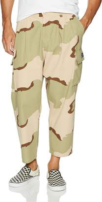 Obey Men's Fubar Big fits Flooded Cargo Pant