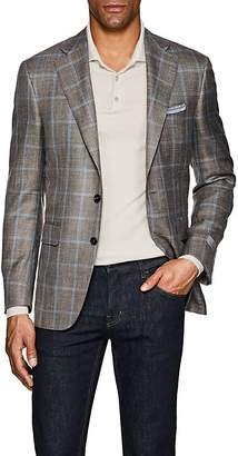 Canali Men's Checked Wool-Blend Two-Button Sportcoat