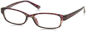 Foster Grant Women's Hazel 1017890-200.COM Rectangular Reading Glasses