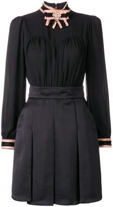 Elisabetta Franchi short pleated dress